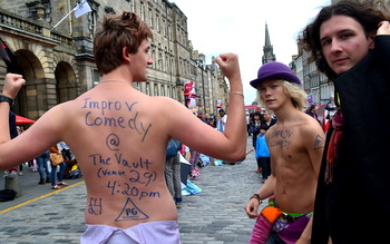 Cheapskate Guide to the Edinburgh Fringe Festival